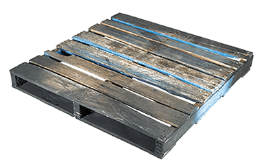 Used or recycled pallets for export